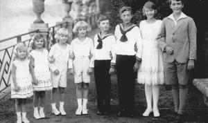 IV. Károly és Zita gyermekei: Otto, Adelhaid, Robert, Felix, Karl Ludwig, Rudolf, Charlotte, Elisabeth
