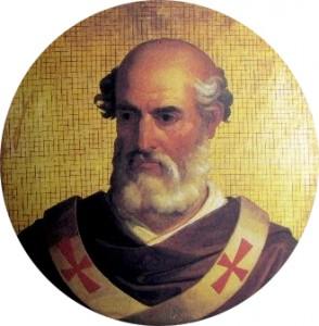 IV. Gergely pápa, aki 835-ben egyetemes ünneppé tette a Mindenszentek ünnepét.