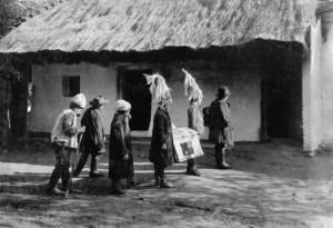 Betlehemezők Marcaliban (1923)