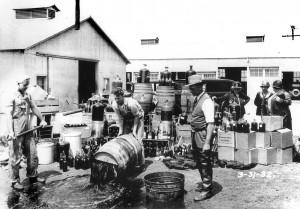 Alkohol megsemmisítése (Kalifornia, 1932.)