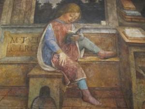 Vincenzo Foppa: A fiatal Ciceró olvas (1464)
