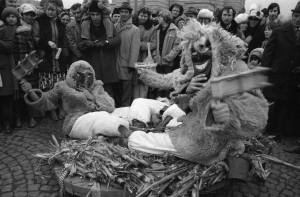 Mohácsi Busójárás 1979 (Fortepan/Erdei Katalin)