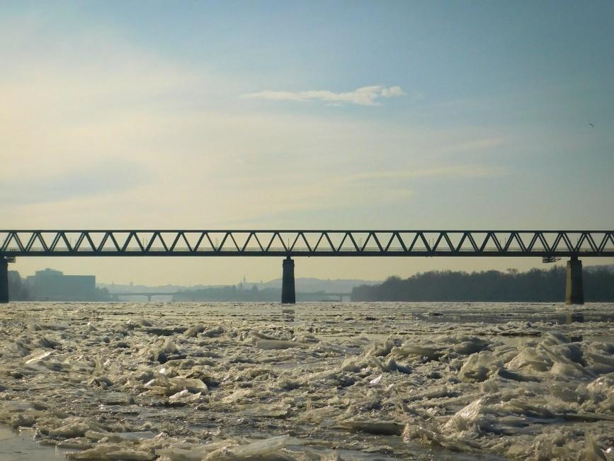 Nagy Ildikó: Jeges Duna