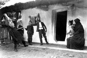 Balázsjárás (Marcali, 1926) fotó: Görnyey Sándor