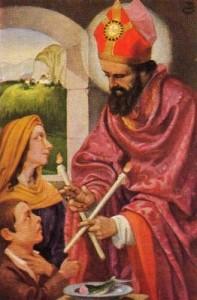 Szent Balázs (születési ideje ismeretlen – 316. február 3.) orvos és püspök
