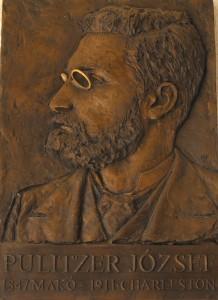 Pulitzer József domborműve Makón