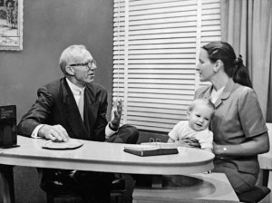 Benjamin Spock (1903. május 2. – 1998. március 15.)