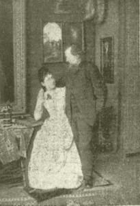 Herman Ottó és felesége (Wartha Vince fotója, 1885)