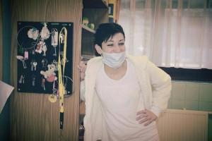 (A képen a számomra legkedvesebb egészségügyis, a lányom: Budai-Papp Ágnes Vera látható.)