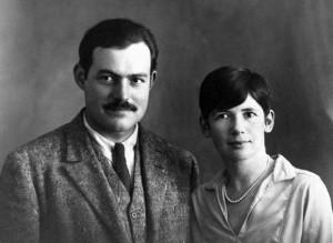 Ernest és Pauline Hemingway (Párizs, 1927.)