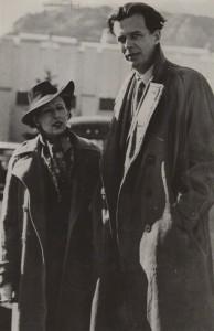 Maria Huxley és Aldous Huxley (1938)