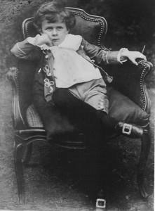 Aldous Huxley 5 éves korában