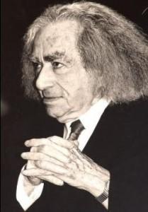 Faludy György (Budapest, Erzsébetváros, 1910. szeptember 22. – Budapest, 2006. szeptember 1.) Kossuth-díjas költő, műfordító, író Bahget Iskander felvétele