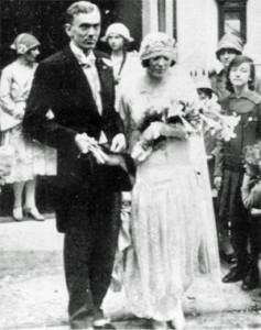 Graham Greene és felesége, Vivien (1927 október 15. )