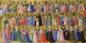 Fra Angelico: Mindenszentek, National Gallery, London