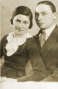 Seress Rezső és felesége, Helén (Fotó: szineszkonyvtar.hu)