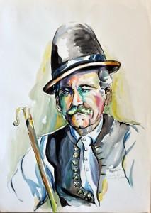 Pesztalics Márta festménye