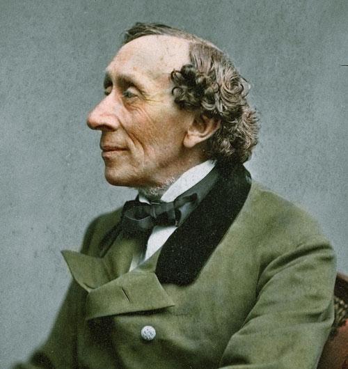 1805. április 2-án született HANS CHRISTIAN ANDERSEN dán költő és meseíró