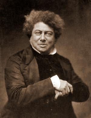 1802. július 24-én született id. ALEXANDRE DUMAS (teljes nevén Dumas Davy de la Pailleterie) francia író