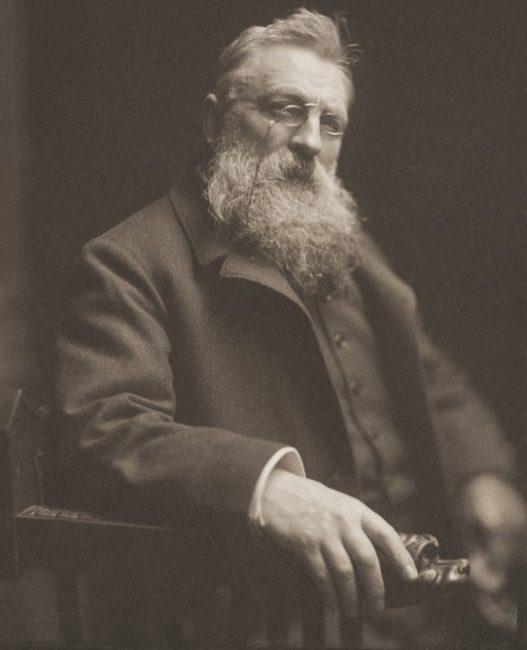 1840. november 12-én született AUGUSTE RODIN francia szobrászművész