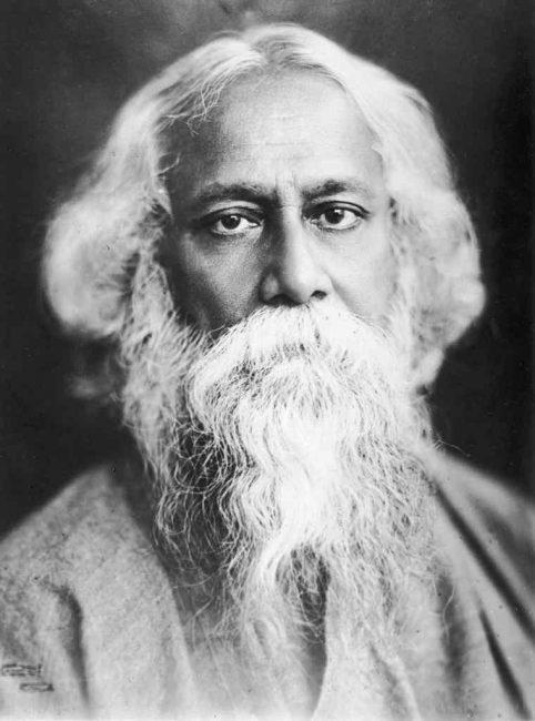 1861. május 7-én született RABINDRANATH TAGORE indiai költő, író, zeneszerző, festő, polihisztor