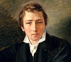 1797. december 13-án született HEINRICH HEINE német költő, a dal (LIED) költészet egyik legnagyobb mestere