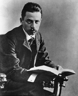 1875. december 4-én született RAINER MARIA RILKE osztrák költő