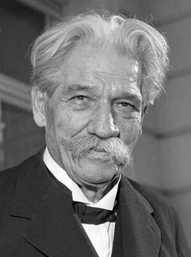 1875. január 14-én született ALBERT SCHWEITZER