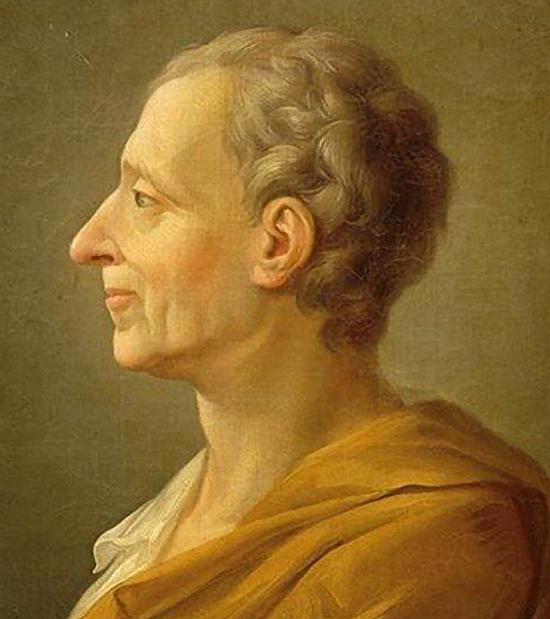 1689. január 18-án született MONTESQUIEU