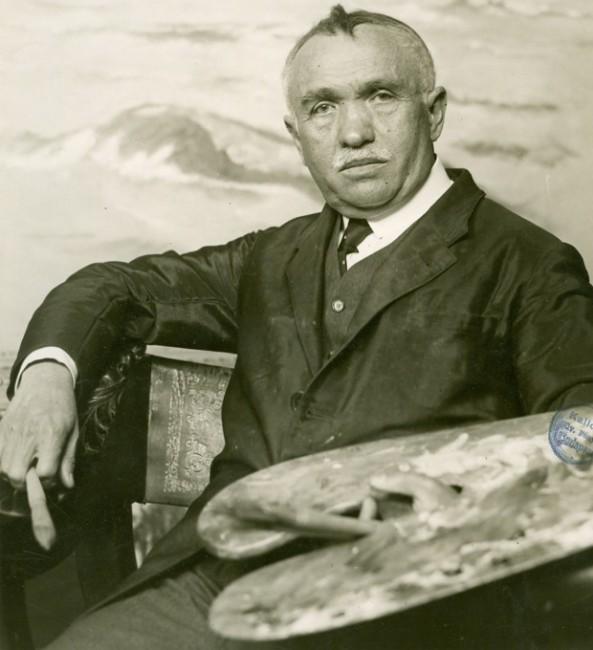 1865. február 13-án született CSÓK ISTVÁN festőművész