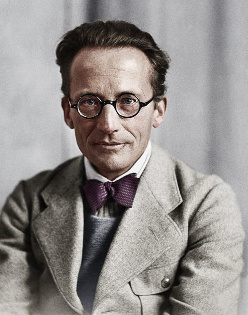 1887. augusztus 12-én született ERWIN SCHRÖDINGER osztrák fizikus