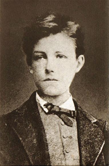 1854. október 20-án született ARTHUR RIMBAUD francia költő