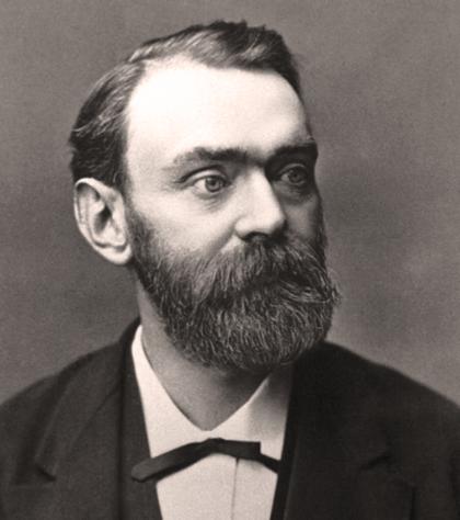 1833. október 21-én született ALFRED BERNHARD NOBEL svéd kémikus, feltaláló