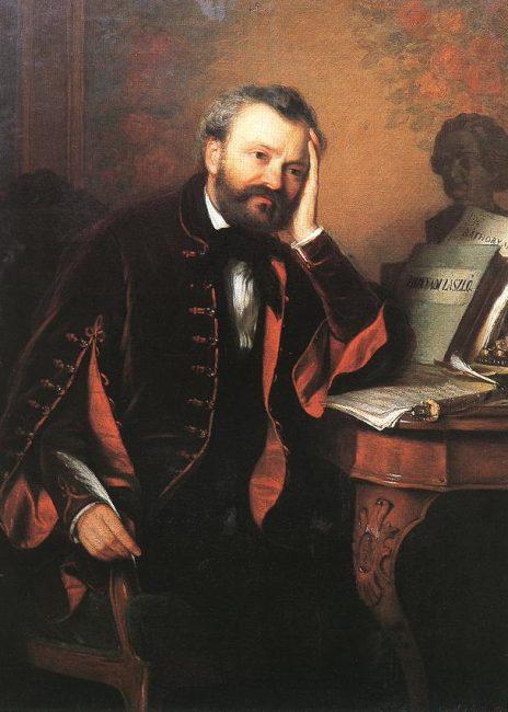 1810. november 7-én született ERKEL FERENC zeneszerző, karmester, zongoraművész és sakkmester