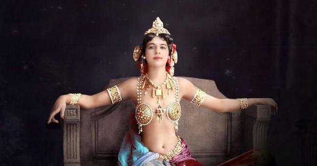 144 éve született Mata Hari holland bártáncosnő