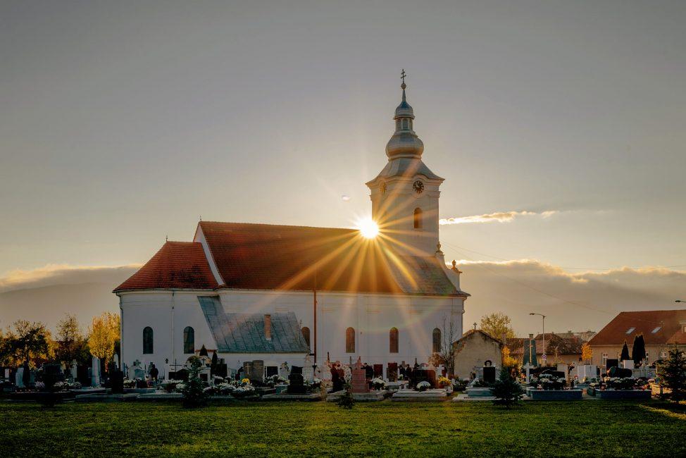 André Zsuzsa: Csíktaplocai Római Katolikus templom